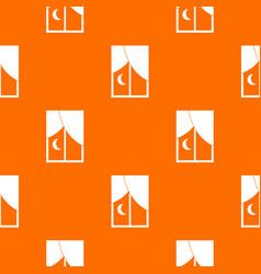 Nightly window pattern seamless vector