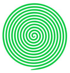 Optical helix anaglyph opt art vector