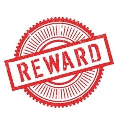 Reward stamp rubber grunge vector