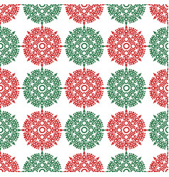 mayan ornamental seamless pattern - mexican vector image