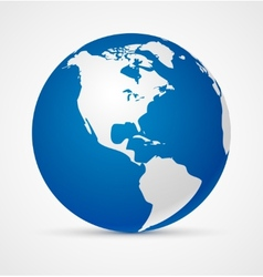 Globe of the world icon vector image