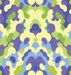 Abstract pattern blue and green background vector