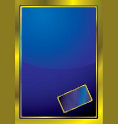 bevel window vector image