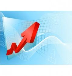 Business profits vector