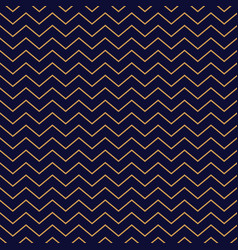 chevron seamless pattern background gold thin vector image