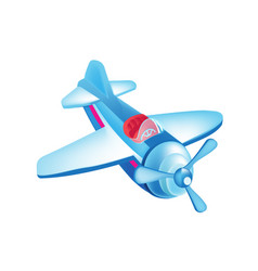 colorful children toys beautiful flying in sky vector image