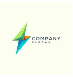 energy logo design vector image