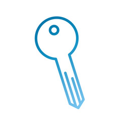 key access tool business button icon vector image