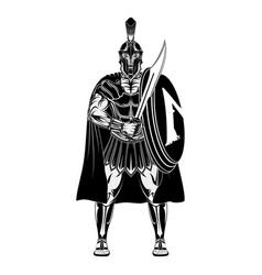 Sparta warrior 0001 vector