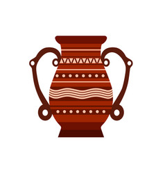 jug clay pottery pot vase ceramic pither milk vector image