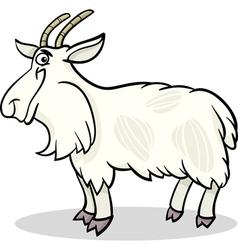goat farm animal cartoon vector image vector image
