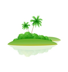 icon island vector image