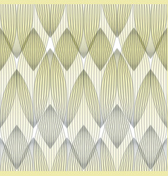 abstract geometric pattern with multiple lines vector image