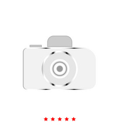 Camera it is icon vector