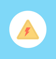 electric icon sign symbol vector image