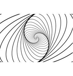Ellipse optical pattern vector