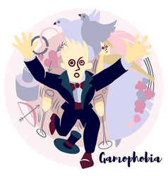 Gamophobia vector