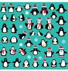 Penguin clipart vector