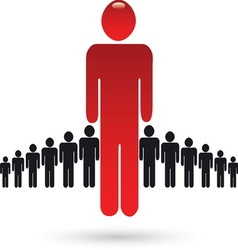 People 04 resize vector image