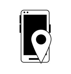 Smartphone icon image vector