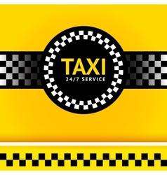 Taxi symbol square vector
