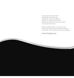 Black and white - Elegant background vector image