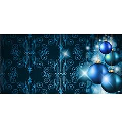 Elegant Merry Christmas background vector image