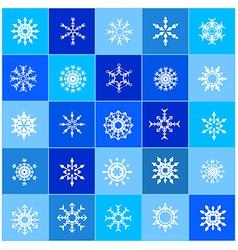 007 christmas snow flakes 003 vector