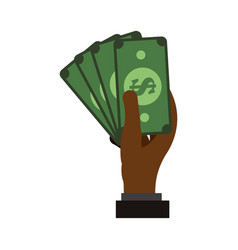 billets money symbol vector image