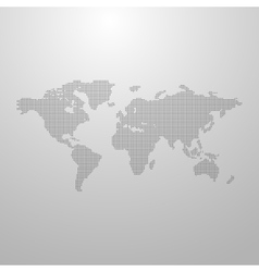 A world map vector