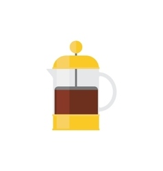 Coffee Press Simplified vector