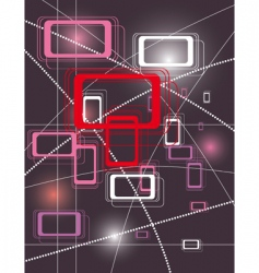 geometric shapes background vector image vector image