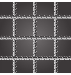 Prison Bars vector image