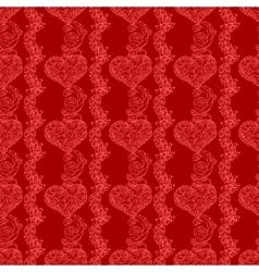 seamless wedding background vector image