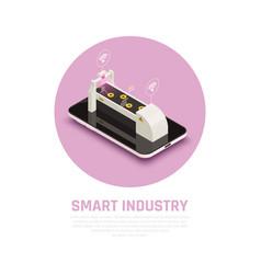 smart farming concept vector image