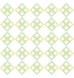 square shape repeating seamless pattern design vector image