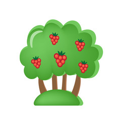 toy children s orchard with berries and fruits vector image