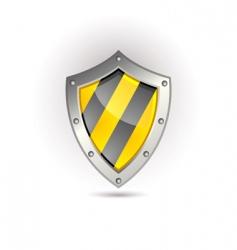 shield icon vector image vector image