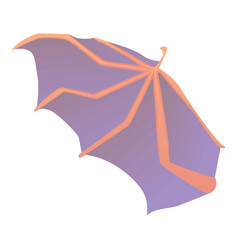 waving wing icon cartoon style vector image vector image