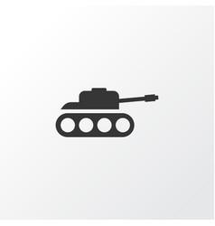 tank icon symbol premium quality isolated panzer vector image