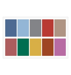 Palette Colors Fall 2016 without Name vector image