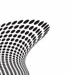 tall wave crash vector image vector image