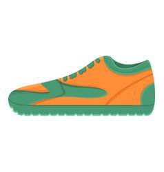 Adidas sneakers icon cartoon style vector