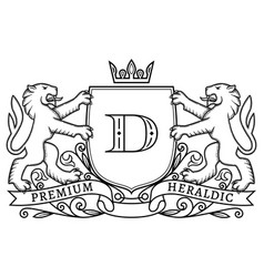 coat arms 11 vector image