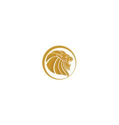 lion logo icon vector image
