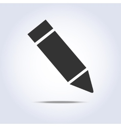 One pencil icon vector image