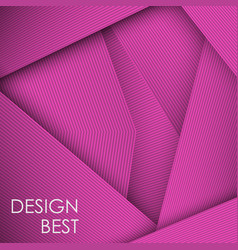 Pink abstract line card background use for vector