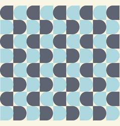 Semi circle shape repeating seamless pattern vector