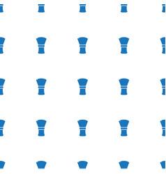 Shaving brush icon pattern seamless white vector
