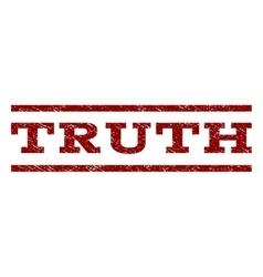 Truth Watermark Stamp vector